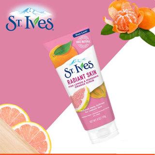 Sữa Rửa Mặt St.Ives Tẩy Tế Bào Chết Radiant Skin Hương Chanh và Cam 170g chính hãng Mỹ thumbnail