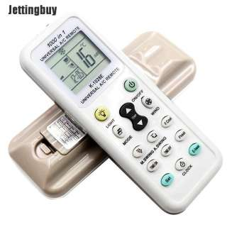 Điều Khiển Từ Xa Jettingbuy, Màn Hình LCD Kỹ Thuật Số AC Không Dây, Dùng Cho Điều Hòa Không Khí, K-1028E