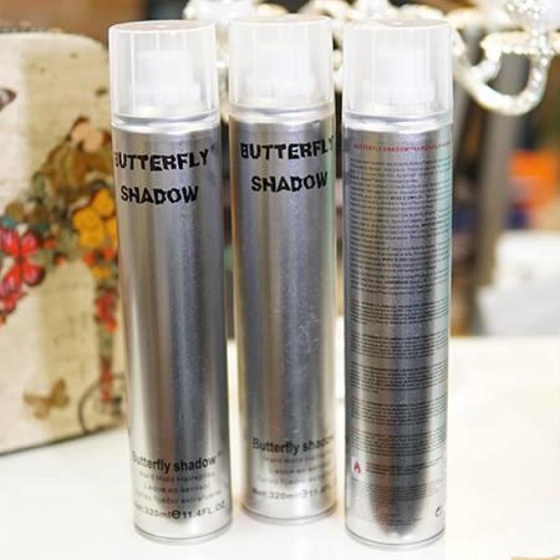 Gôm xịt tạo kiểu tóc Buttrelfy Shadow 600ml (loại tốt) giá rẻ