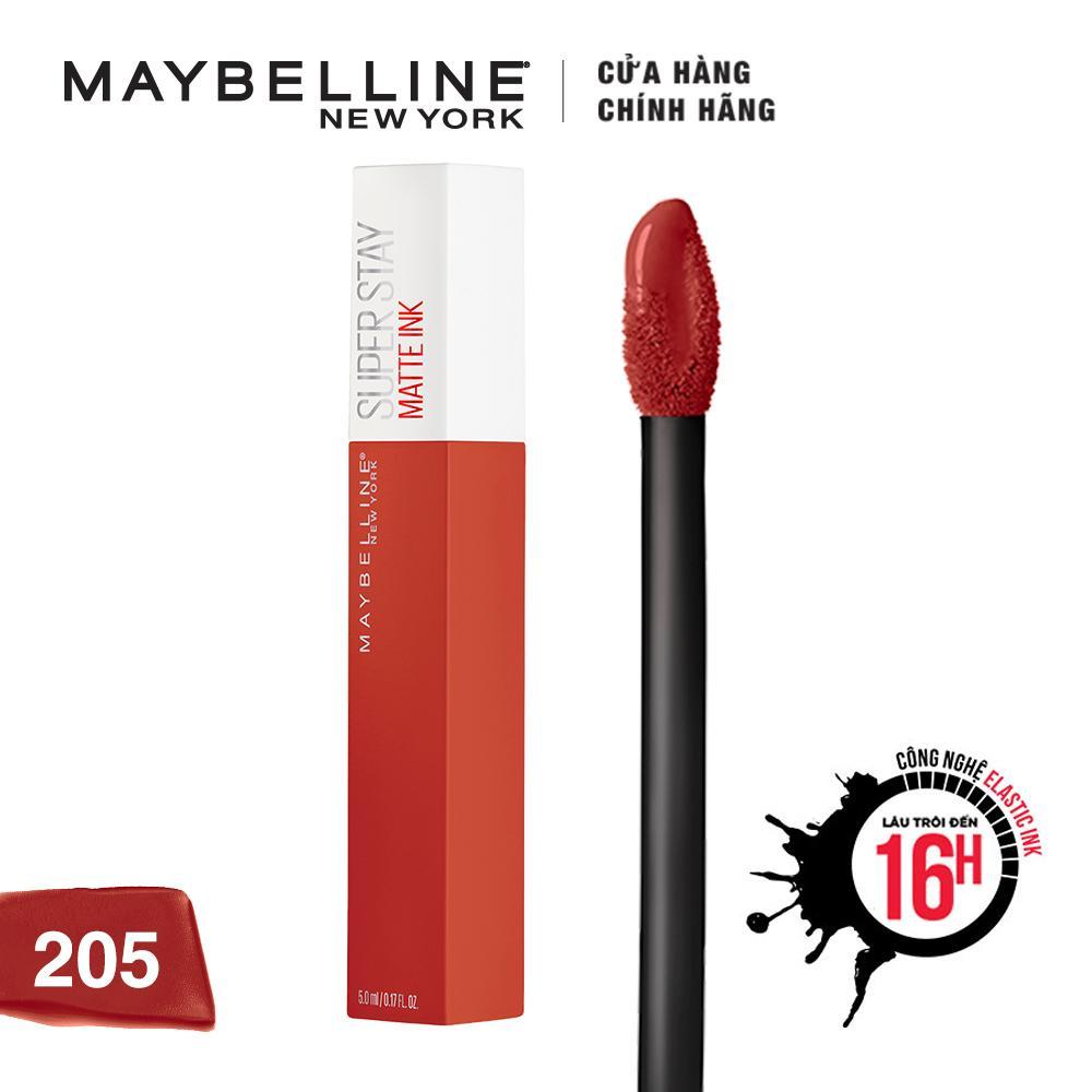 Son kem lì Maybelline Super Stay Matte Ink