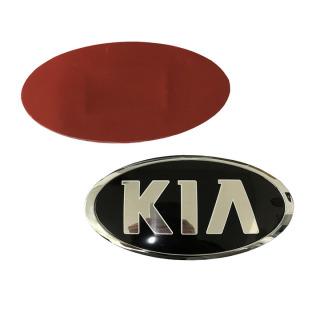 Logo biểu tượng gắn trước và sau của hãng xe Kia kích thước 120 60mm ( 1 chiếc ) thumbnail