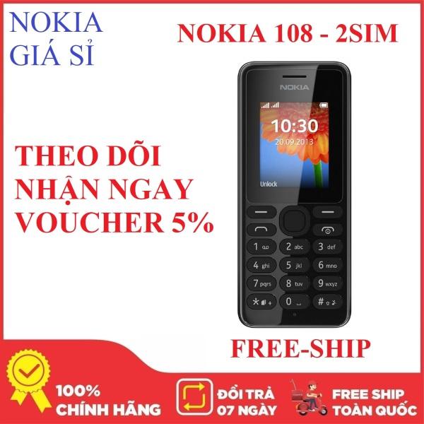 Điện thoại giá rẻ - Nokia 108 - 2 SIM 2 SÓNG - Nokia giá sỉ