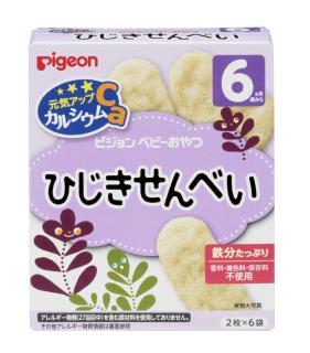 Bánh ăn dặm Pigeon vị rong biển cho bé từ 6 tháng (hộp 6 gói) - Bánh gạo Nhật cho bé bổ xung canxi - VTP mẹ và bé TXTP017 thumbnail