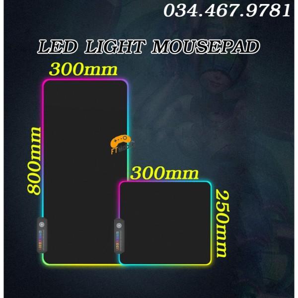 Bảng giá Lót chuột gaming LED RGB - LED LIGHT MOUSEPAD Phong Vũ
