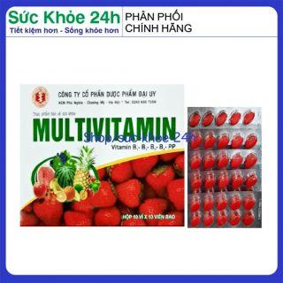 Vitamin tổng hợp Pharvita Plus bồi bổ cơ thể, tăng sức đề kháng dùng cho người trên 6 tuổi Chai 30 viên HSD 2023 5
