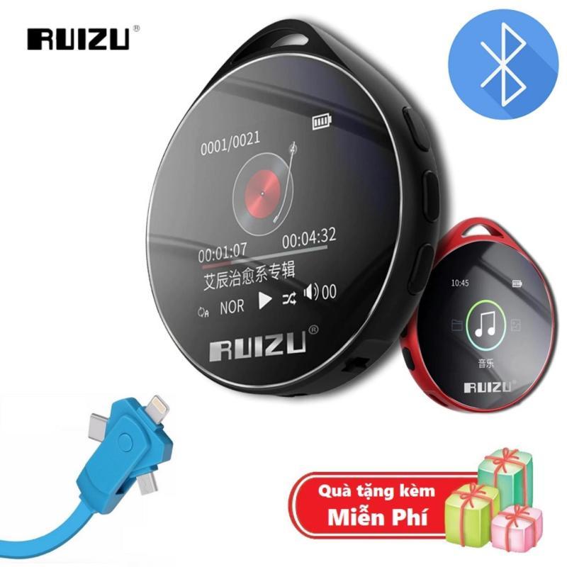 ( Quà tặng Dây sạc điện thoại đa năng ) Máy nghe nhạc MP3 Bluetooth cao cấp Ruizu M10 - Hifi Music Player Ruizu M10 - Màn hình cảm ứng 1.8inch - Máy nghe nhạc Lossless Ruizu M10