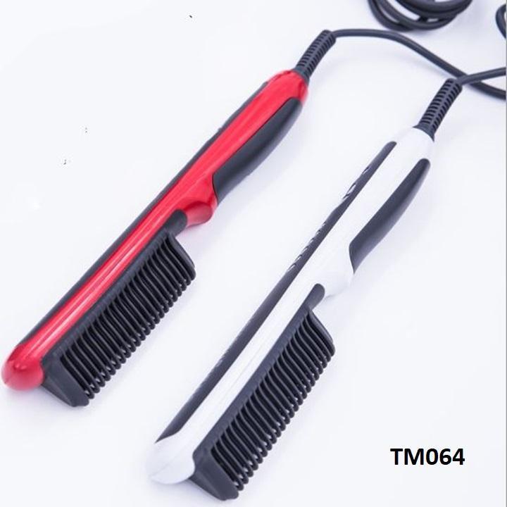 Lược duỗi tóc chỉnh nhiệt - lược ép thẳng tóc - lược điện chải thẳng tóc STM63
