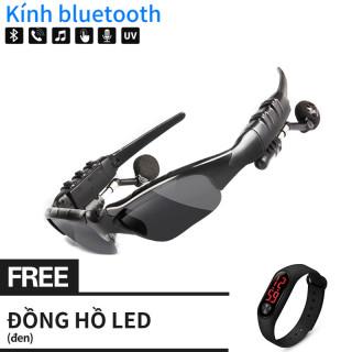Đồng hồ LED Xiaomi miễn phí [Điện Tử Chính Hãng] Kính lái xe bluetooth kính lái hỗ trợ nghe nhạc Kính nghe nhạc MP3 âm thanh Bluetooth kiểu dáng thiết kế cực ngầu thumbnail