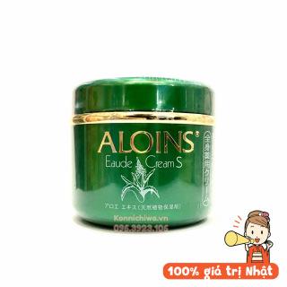 [Ảnh thật-Hàng Auth] Kem Xanh Lô hội Aloins Eaude Cream Dưỡng Da Toàn Thân Hàng Nhật Nội Địa lọ hũ 185g thumbnail