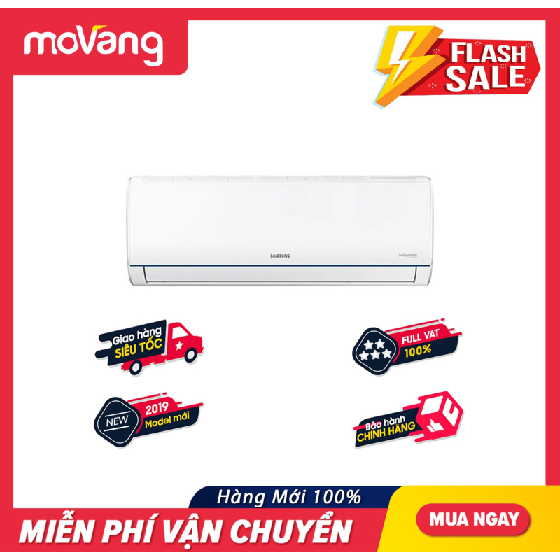 Máy lạnh SAMSUNG Inverter 2 hp AR18TYHQASIN/SV -Công suất 17000 BTU, Máy lạnh Inverter, Làm lạnh nhanh chính hãng