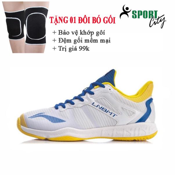 Giày cầu lông Li-ning AYTR011-2 giày đánh cầu lông dành cho nam, đế kếp chống lật cổ chân giá rẻ