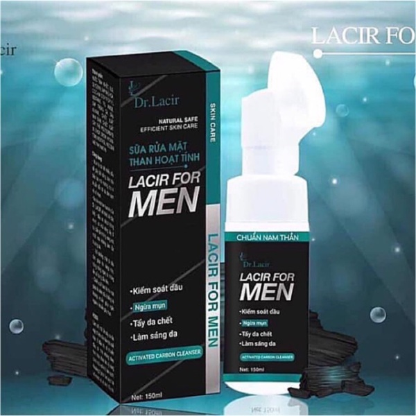 Sữa Rửa Mặt Dành Cho Nam Lacir For Men 150ml  (Lamer Care - Dr. Lacir)