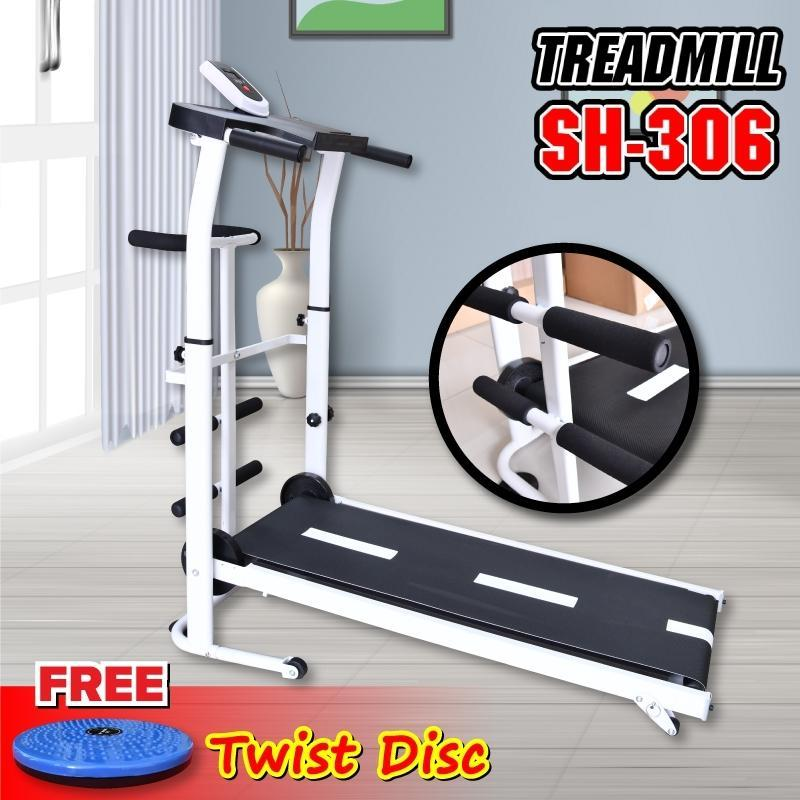 Bảng giá GYM - Máy chạy bộ cơ đa năng mẫu mới Treadmill SH - S306 5 in 1 tặng kèm 1 đĩa xoay eo cao cấp siêu đẹp mẫu mới 2020