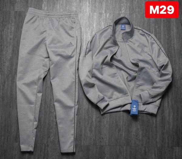 Bộ thể thao nam, bộ nỉ nam mùa đông áo khóa kéo quần ống suông chất liệu nỉ da cá dày dặn không xù - Hàng loại A