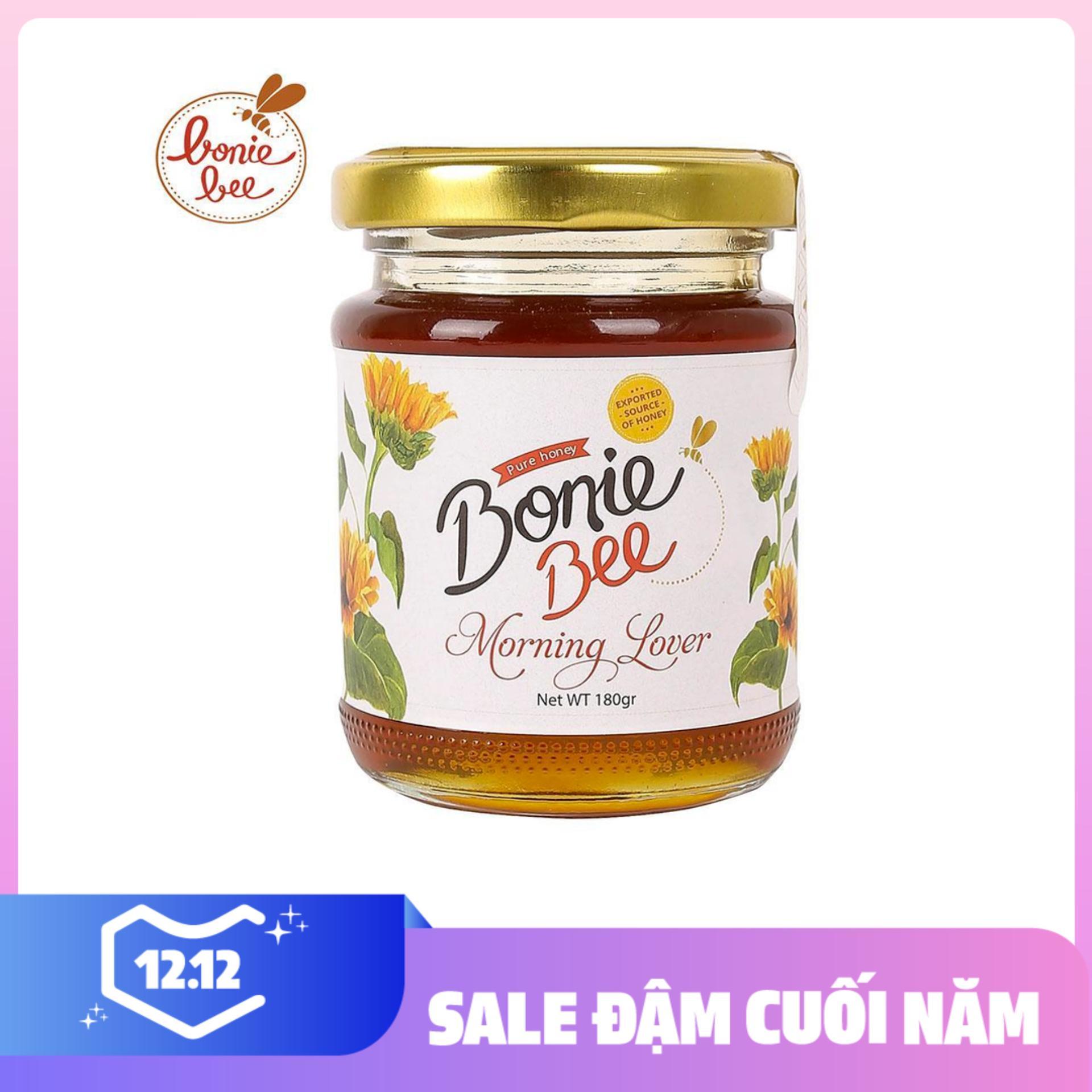 Mật Ong đa Hoa Nguyên Chất Bonie Bee Morning Lover 180g Giá Siêu Cạnh Tranh