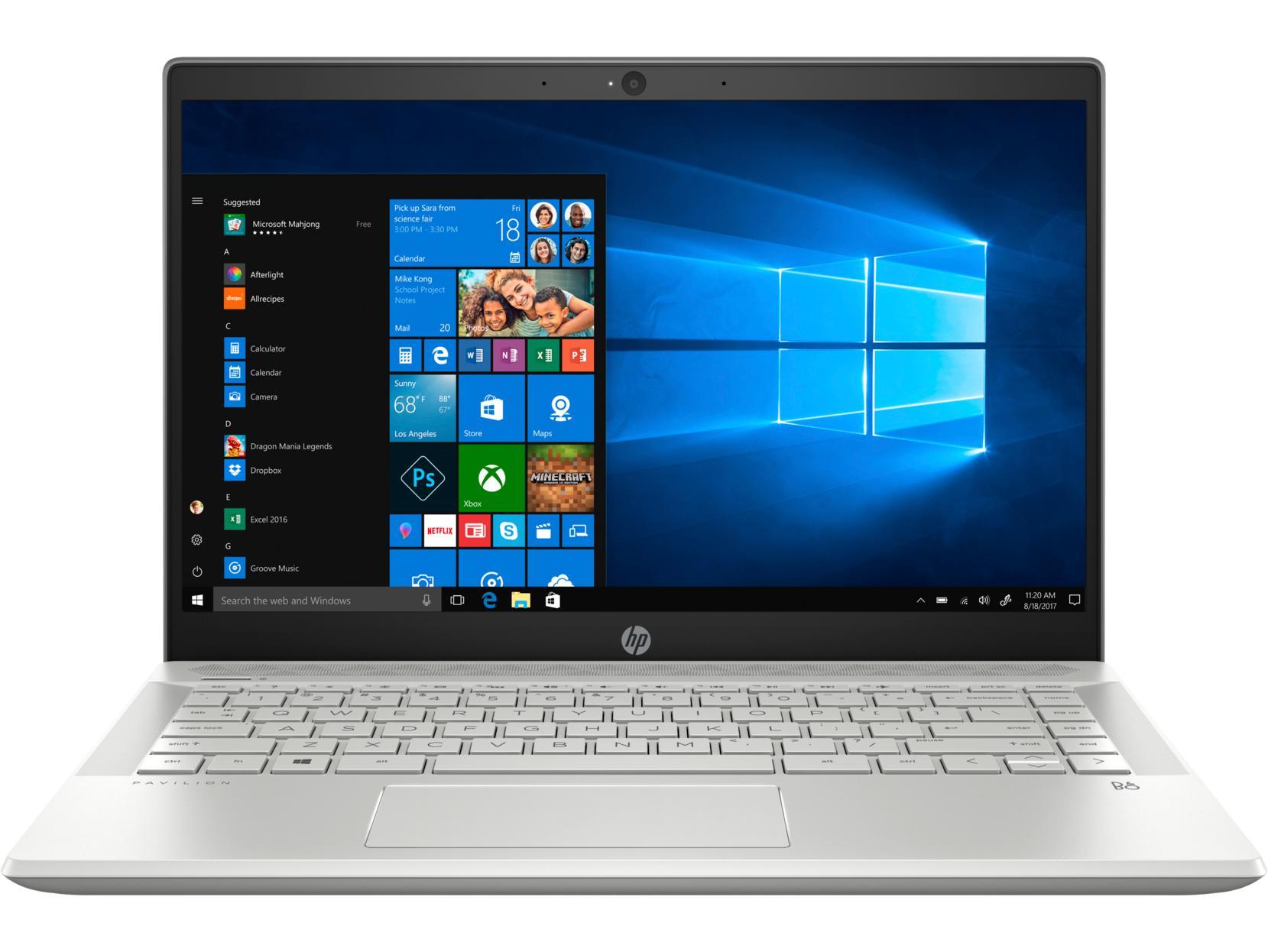 Laptop HP Pavilion 14-ce2041TU (Core i5-8265U/4GB RAM DDR4/1TB HDD/14'' FHD/6ZT94PA) - Hàng Chính Hãng