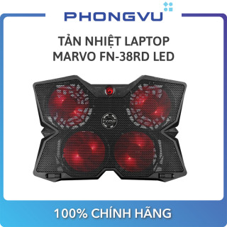 Tản nhiệt laptop MARVO FN-38RD LED - Bảo hành 6 tháng thumbnail