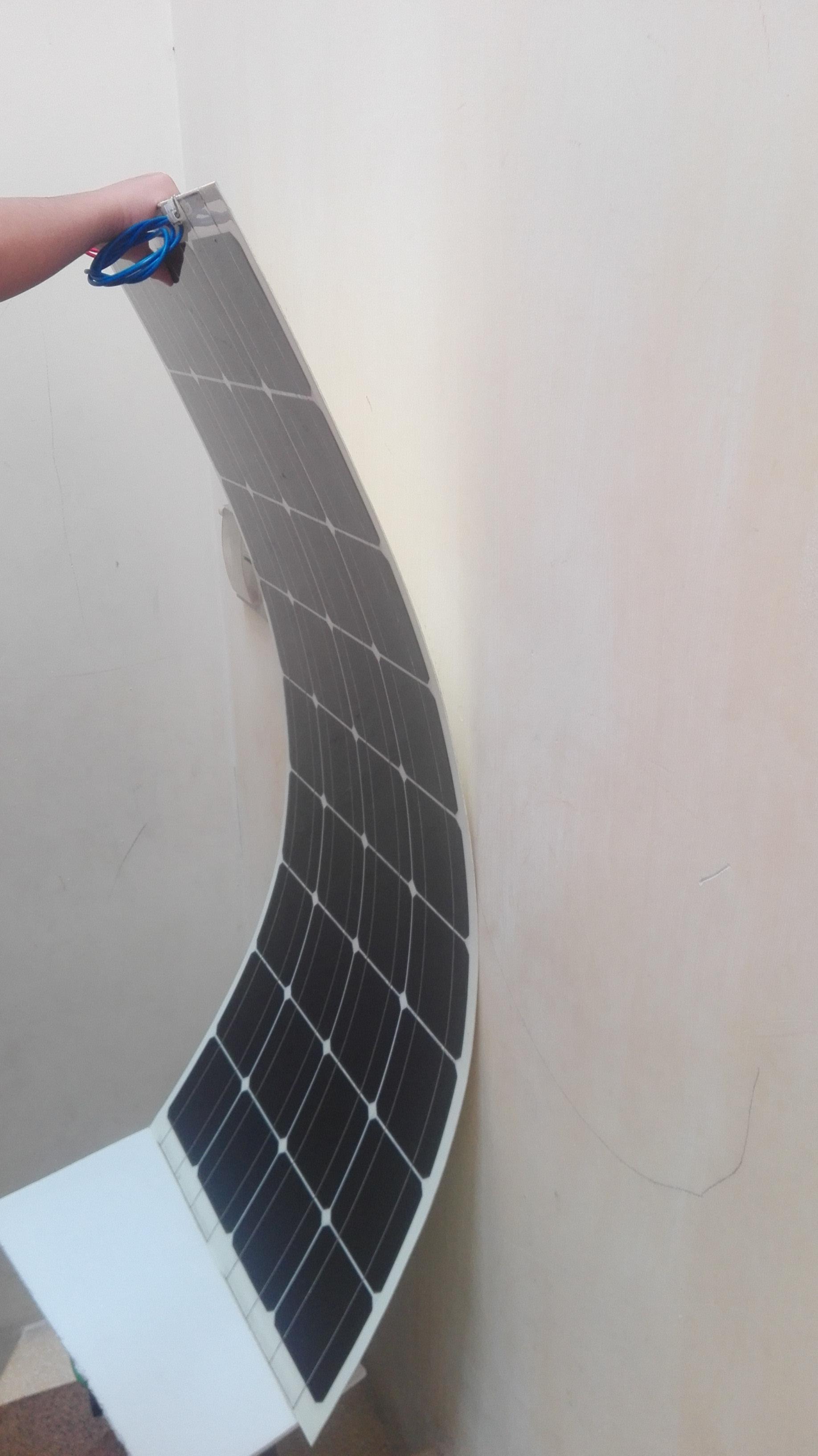 Pin mặt trời 100W mono uốn cong