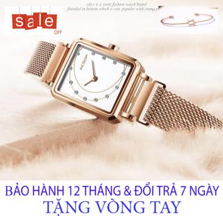 Đồng hồ nữ AESOP [TẶNG VÒNG TAY] [Liên quan nữ cao cấp - đeo tay nữ đẹp - cặp đôi - dây da - dong ho thuy sy giá rẻ - đồng hồ cơ - vòng tay nữ - thông minh - thể thao - dây thép - quai thép - quai da - dây lưới - nam châm] thumbnail