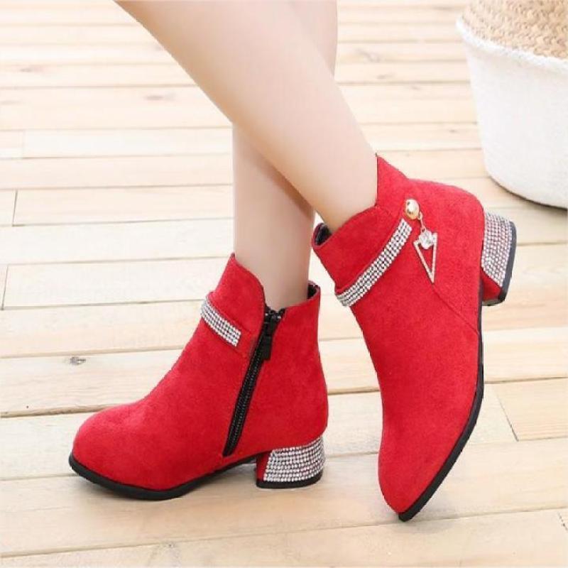 Giá bán Giày bốt ( cao cấp ) cho bé gái phong cách hàn quốc EB002DO