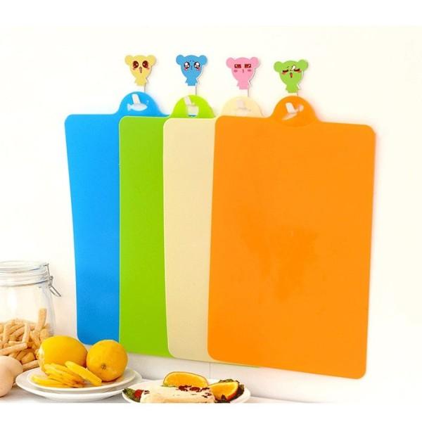 Thớt nhựa dẻo kháng khuẩn thớt nhà bếp nhựa an toàn cho sức khỏe dễ vệ sinh bền đẹp VHN1435
