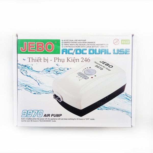 Oxy 2 Dòng Điện JEBO 9970 - Công Suất Mạnh  ( Tặng 2m dây và sủi oxi)