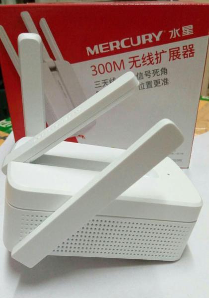 Giá Bộ Kích Sóng Wifi 3 Râu Mercury 300M Cắm Trực Tiếp Vào Ổ ĐIện Phát Cực Mạnh - Giá Rẻ