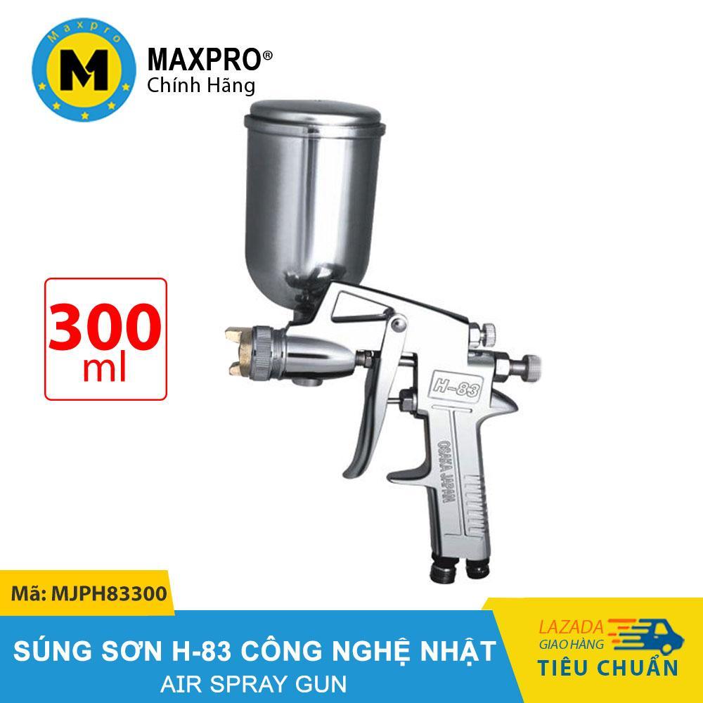 Máy Phun Sơn H-83 MAXPRO Công Nghệ Nhật Bình Chứa Sơn 300ml – MJPH83300