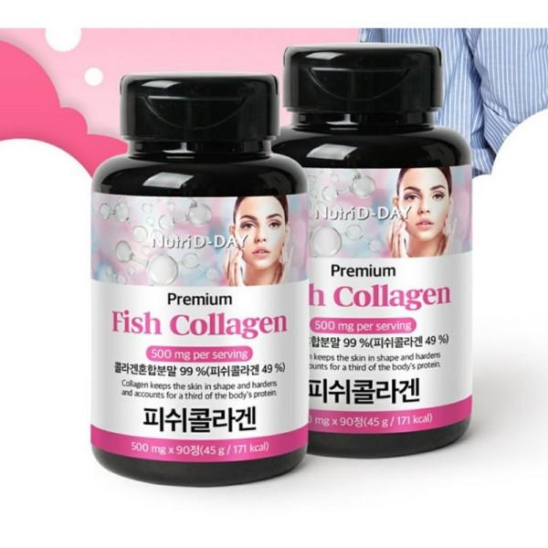 Viên Uống Fish Collagen Nutri D-Day 90 Viên ( Có Bill)
