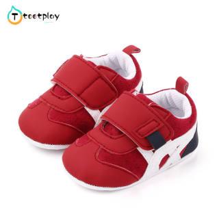 Tootplay 1 Đôi Giày Em Bé, Giày Trẻ Tập Đi Nhiều Màu Nubuck Mềm Bằng Cotton Cho Bé 3-12 Tháng Tuổi