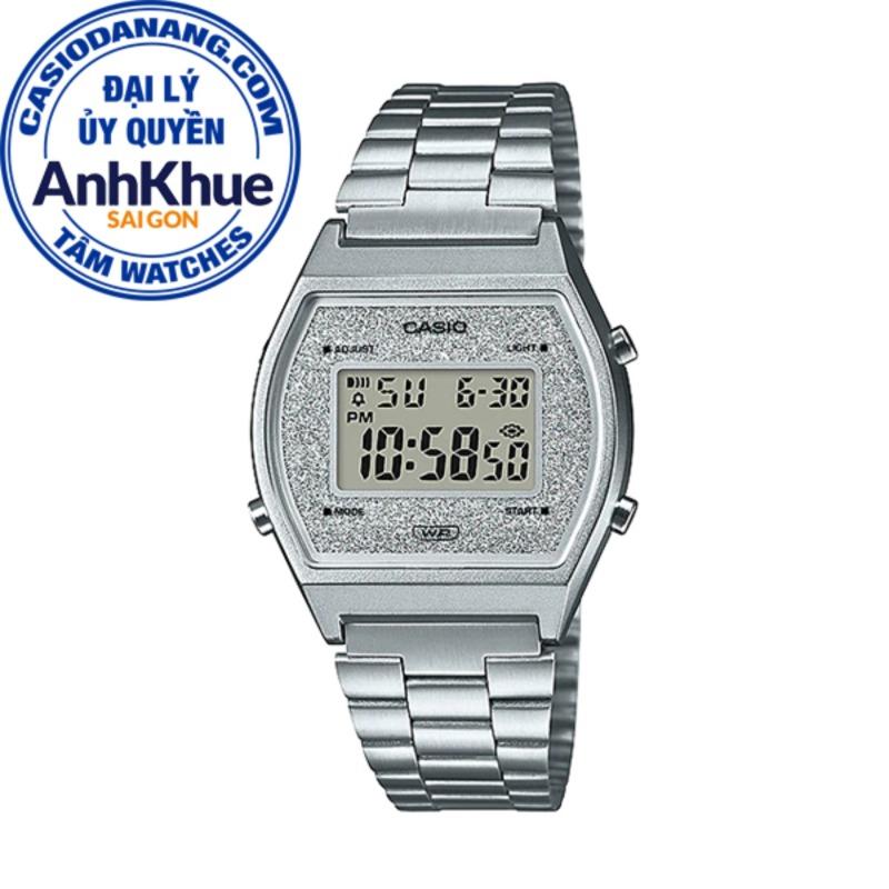 Đồng hồ nữ dây kim loại Casio Standard Anh Khuê B640WDG-7DF