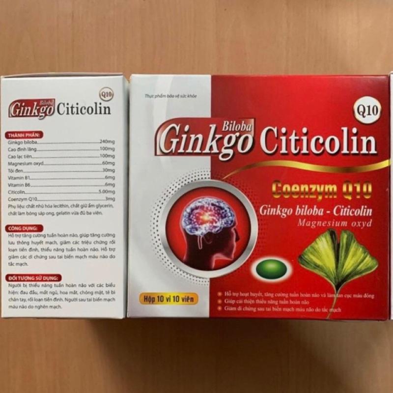 Ginkgo biloba 240mg hoạt huyết dưỡng não giúp tăng cường lưu thông máu, sản phẩm có nguồn gốc xuất xứ rõ ràng, đảm bảo chất lượng, dễ dàng sử dụng