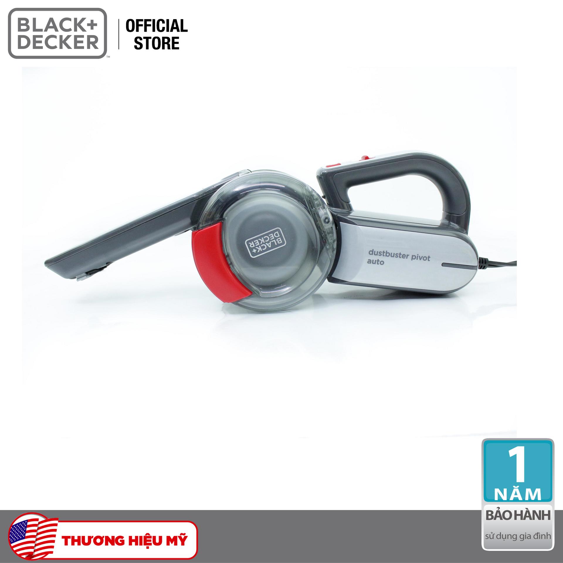 Máy hút bụi ô tô cầm tay 12V Black & Decker PV1200AV-B1