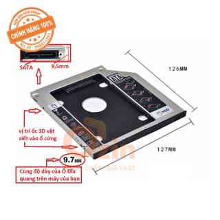 khay gắn hdd ssd cổng dvd , Caddy Bay sata , Caddy Bay Mỏng , Dày , Laptop , 9.5mm , 12.7mm thumbnail