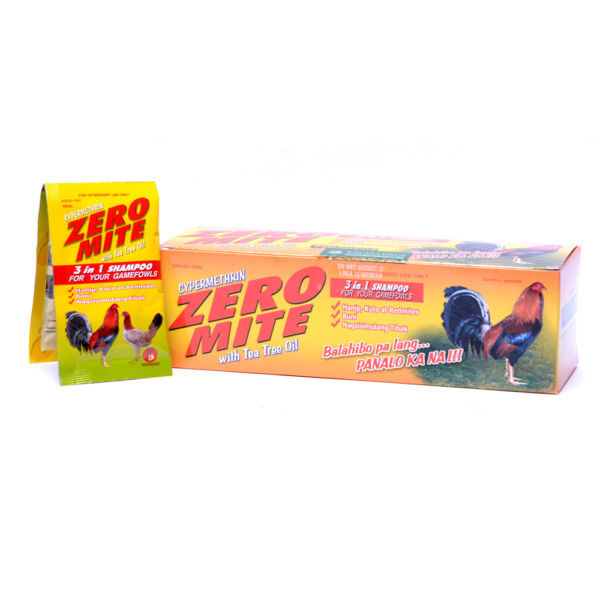 Xà bông tắm gà Zeromite (1 gói).