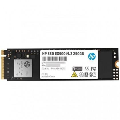 Ổ cứng SSD HP EX900 250GB M.2 NVMe 2280 (đọc 1900MB/s - ghi 650MB/s)
