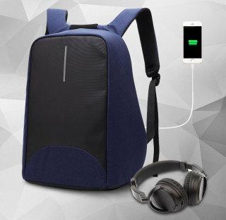 Balo laptop chống trộm coolbell 8001 15.6 (Xanh than) thumbnail