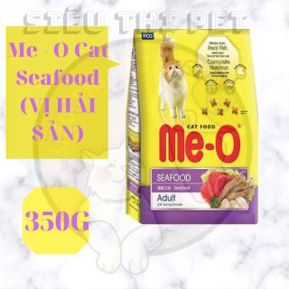 ( DINH DƯỠNG ) Me - O Cat Seafood - Thức ăn cho mèo trưởng thành vị hải sản 350Gr thumbnail