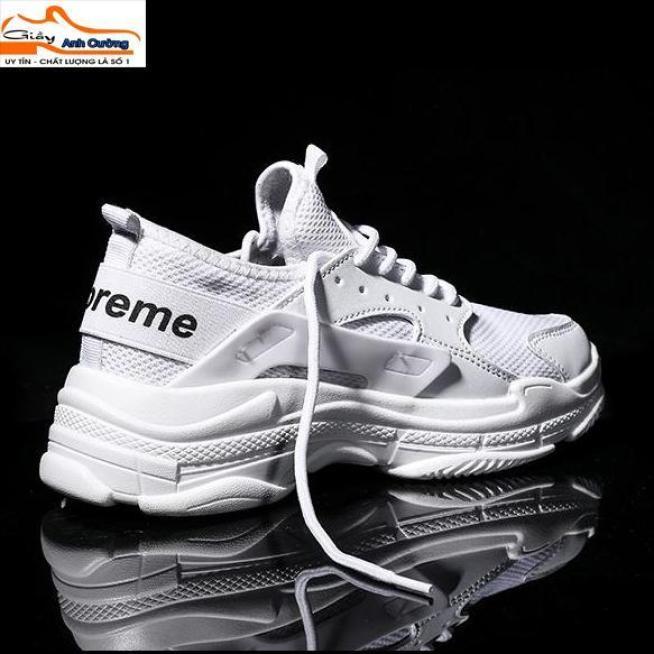 Giày thể thao màu trắng - Giày thể cực chất - Giày thể thao Hottrend giá rẻ