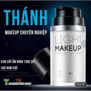 (Mua 1 Tặng 2 Quà 50k) Light Makeup Kem Trang Điểm Makeup Thần Thánh Đa Năng Cho Nam 4in1 Kem Che Khuyết Điểm Đa Năng thumbnail