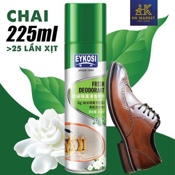 Bình Xịt Khử Mùi Hôi Giày Dép EYKOSI giá rẻ