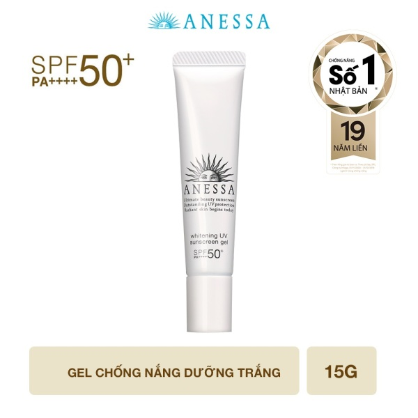 [GIFT] Gel chống nắng dưỡng trắng Anessa Whitening UV Sunscreen Gel 15g