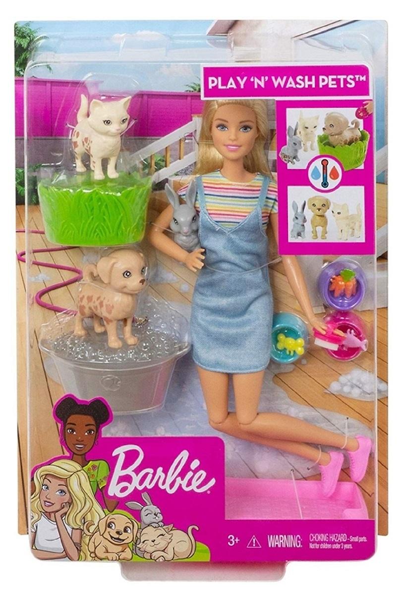 Giá Quá Tốt Để Có Búp Bê Barbie Cùng Thú Cưng Tinh Nghịch