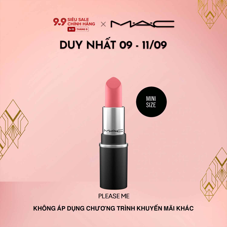 Son môi MAC Mini Lipstick 1.8g