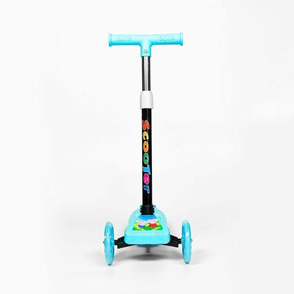 Phân phối Xe trượt scooter trẻ em hai màu trơn HY01 dành cho các bé từ 2 tuổi đến 5 tuổi