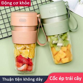 máy ép trái cây mini cầm tay kiêm bình đựng nước,Máy xay sinh tố mini-Bảo hành 6 tháng thumbnail