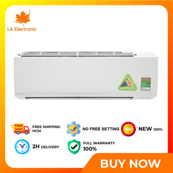 Máy lạnh - Daikin Inverter 1.5 HP ATKC35UAVMV - Miễn phí vận chuyển HCM
