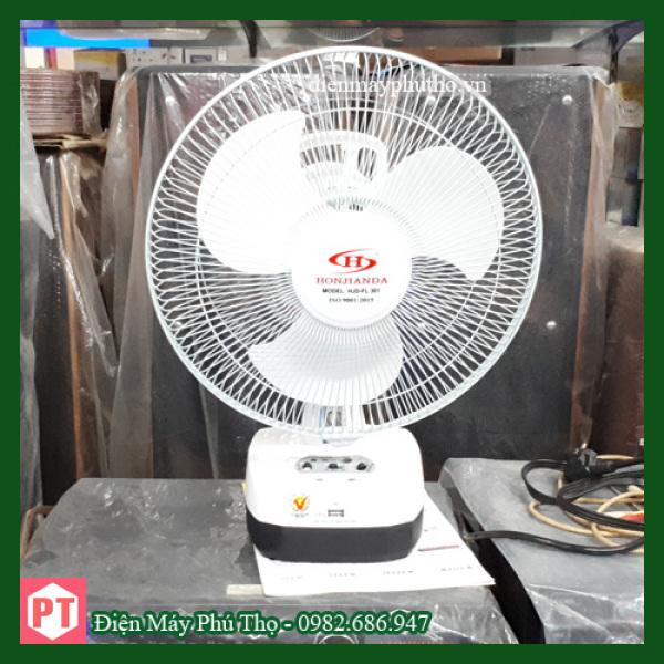 Quạt tích điện Honjianda  HJD-FL 301 loại 1 bình ắc quy