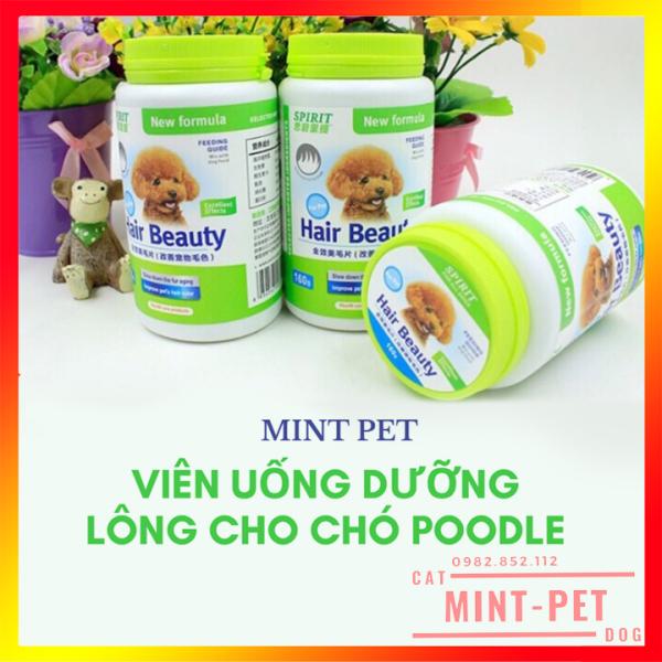 Viên Uống Dưỡng Lông Cho Chó Poodle Hair Beauty Sprit 160g