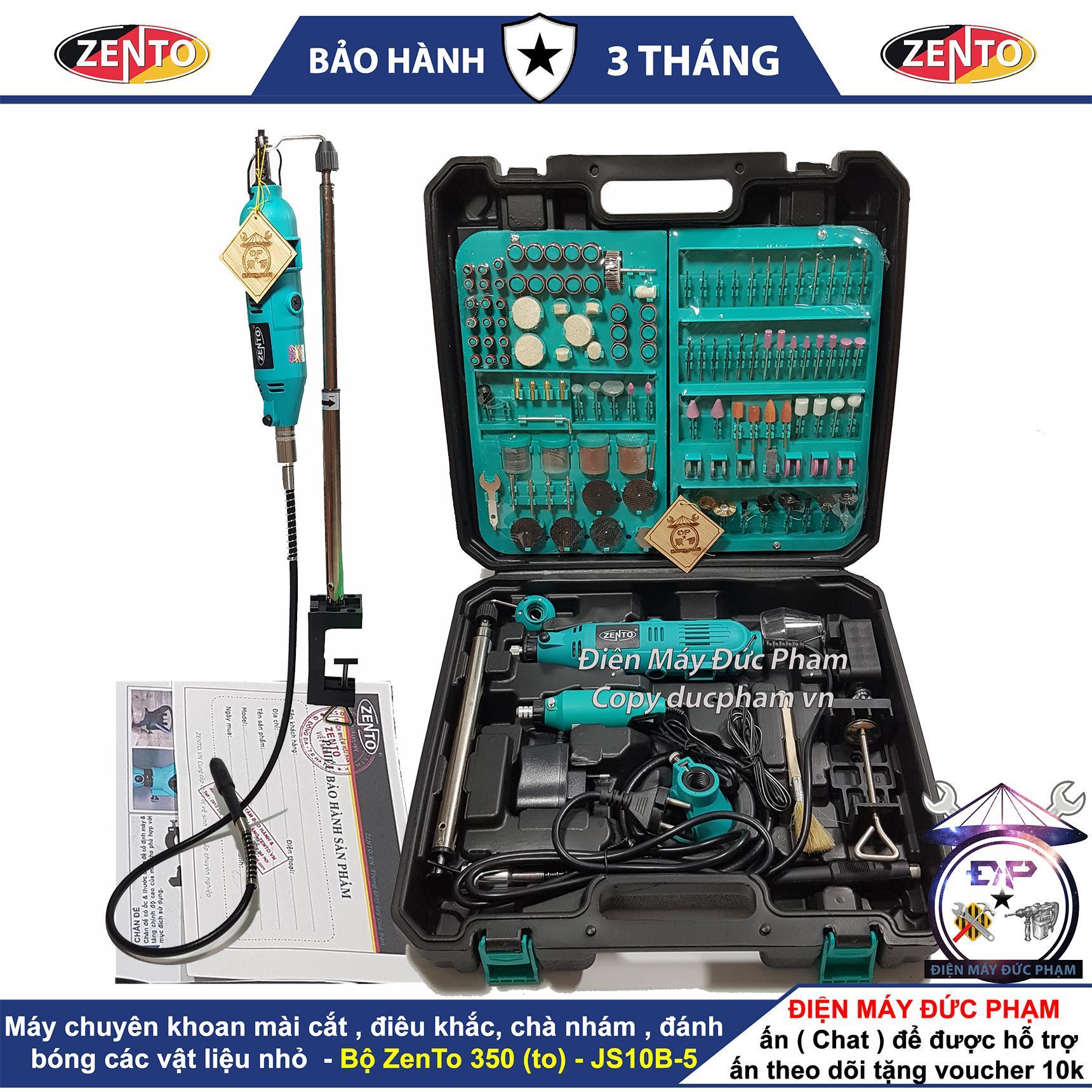 Bộ Máy Khoan Mài Khắc Đa Năng Zento ( công ty ) 350 chi tiết JS10B-5